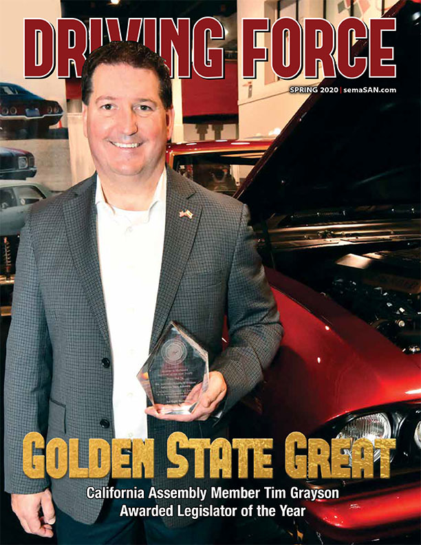 Current Issue of Driving Force, Spring 2020, SEMA Action Network
