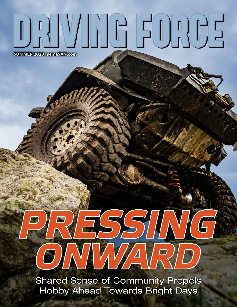 Current Issue of Driving Force, Summer 2020, SEMA Action Network