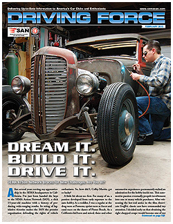 Driving Force, February 2012, SEMA Action Network