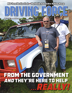 Current Issue of Driving Force, Fall 2014, SEMA Action Network