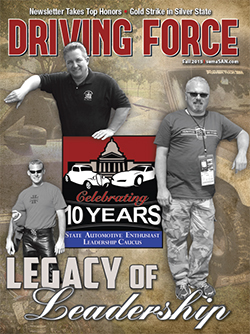 Current Issue of Driving Force, Fall 2015, SEMA Action Network