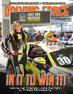 Current Issue of Driving Force, Winter 2016, SEMA Action Network