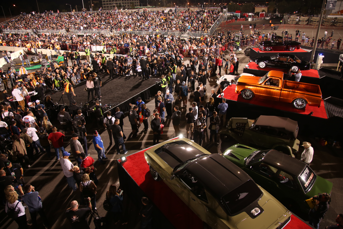 SEMA Ignited Fly-Over Photo