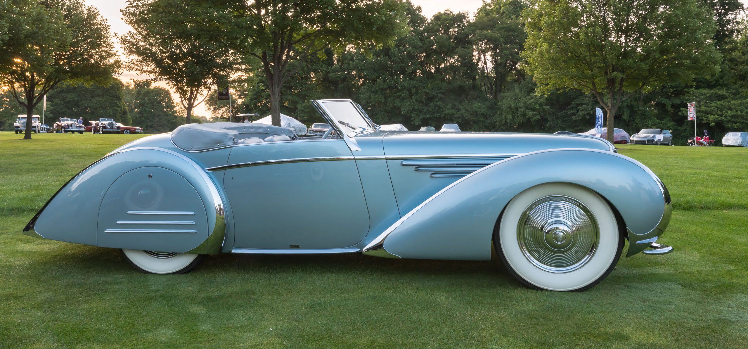 2020 Driving Force Summer Edition - Legislative Front Lines. Pictured Concours-level Delahaye